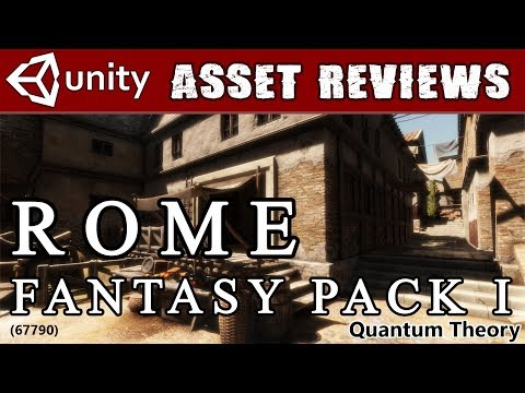 Unity Asset Kit Reviews - Rome Fantasy Pack I