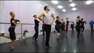 Занятия русскими народными танцами