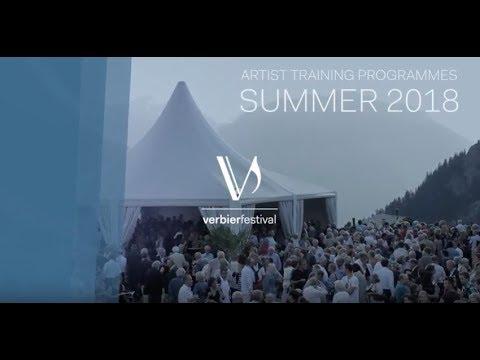 Verbier Festival Artist Training Programmes 2018