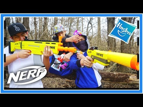 THE HIGHLY ANTICIPATED FORTNITE NERF GUNS ARE RELEASED: NERF FORTNITE AR- L, SP- L, ALL MICRO SHOTS