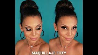 MAQUILLAJE FOXY (PIEL MADURA)