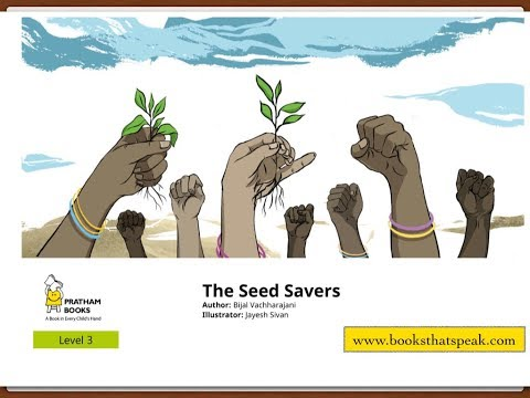 English stories for kids - The Seed Savers - Pratham Books