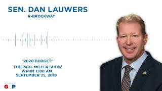 Sen. Lauwers discusses the state budget on the Paul Miller Show