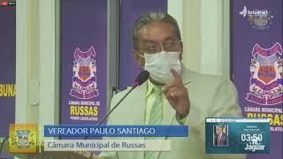 Paulo Santiago   Pronunciamento Russas 23 02 2021