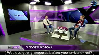 President of Eurolanche Fan Club on Slovak TV (English subtitles)