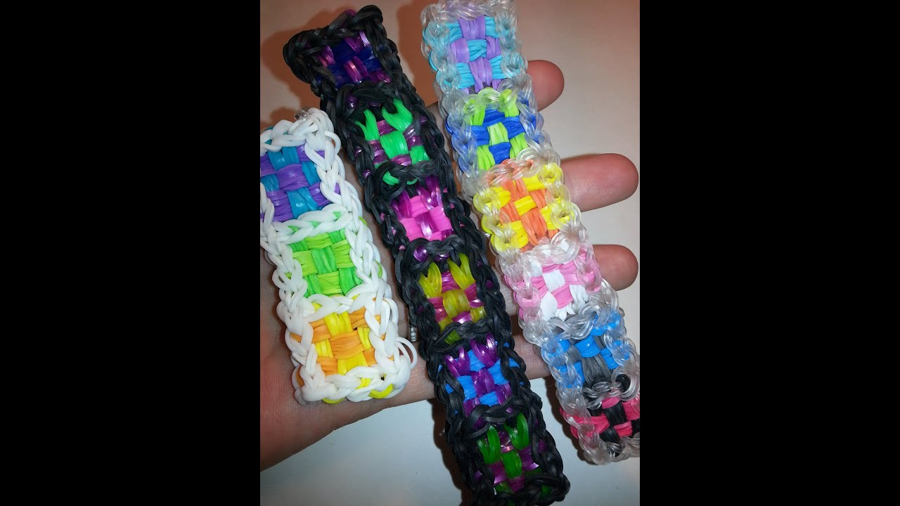 Bracelet tutorial rainbow loom