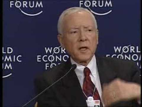 Davos Annual Meeting 2005 - America's House Divided