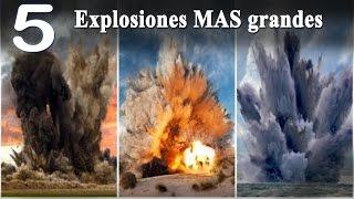 Explosiones MAS grandes del mundo TOP 5 Explosion