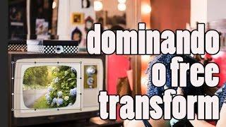 Dominando o Free Transform (Transformação Livre) no Photoshop BÁSICO #14