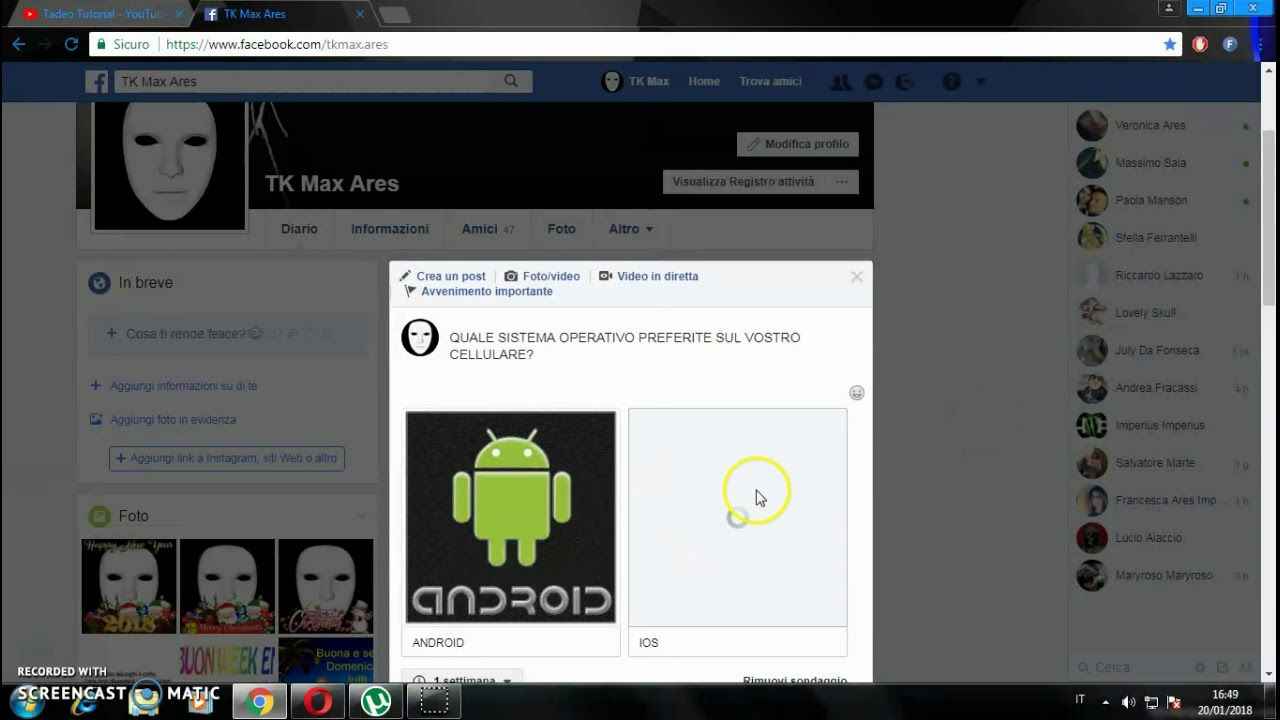 come creare finti profili facebook – RobottinoFacile.it