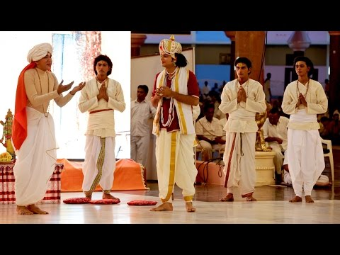 Sri Sathya Sai - Drama by the Youth & Bal Vikas Alumni of Tamil Nadu   - Oct 29 2015