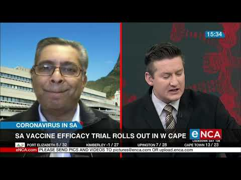 SA vaccine efficacy trial rolls out in W Cape | COVID-19