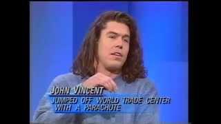 John Vincent B.A.S.E. Jumper on Donahue 1995