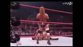 WWE The best fight ever in the history triple H Deserves AN Oscar