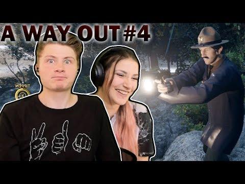 DAS.. war mehr als knapp! | A Way Out #4 | Kati & Dner