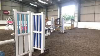 4 1/2 yr old Mowgli jumping his first proper course!!!