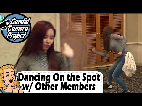 [Prank Cam Project] SeoHyun - SeoHyun Dancing On the Spot with No Doubt 20170212