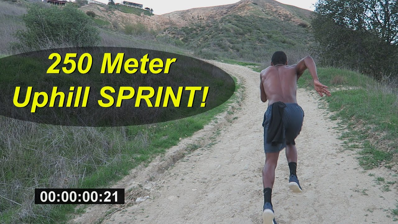 How to Run Faster: 200 Meter Hill Workout for Strength!