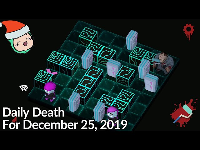 Friday The 13th: Killer Puzzle - Daily Death for December 25, 2019