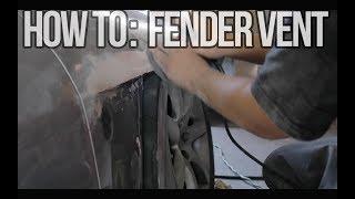 How to: DIY Metal Fender Vent