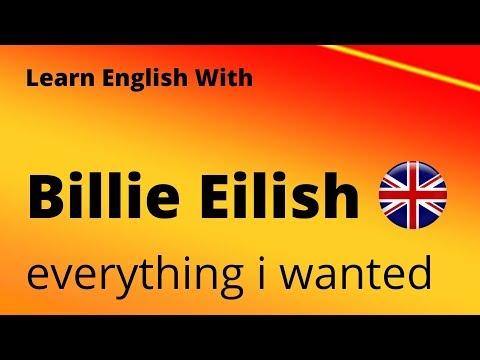 Billie Eilish - Everything I Wanted (Learn English) With Lyrics & Pronunciation