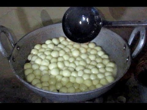 Preparing RASGULLA in My Village / Bengali Sweet Rasgulla Making