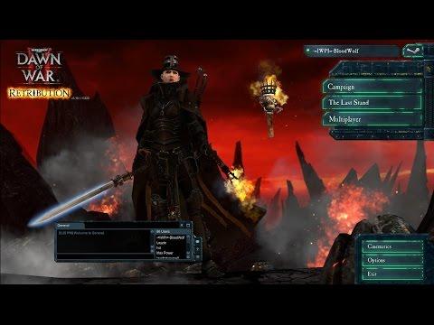 Dawn Of War II Retriution Last Stand : Chaos Sorcerer Powers Unleashed! |