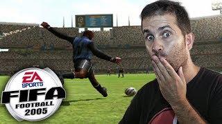 JUEGO POR PRIMERA VEZ AL FIFA 2005 DE PS2