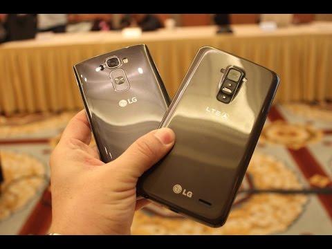 LG G Flex 2 vs LG G Flex (CES 2015 Comparison)