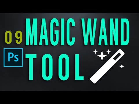 Magic Wand Tool Photoshop CC Class 09 By GFX Mentor Designer