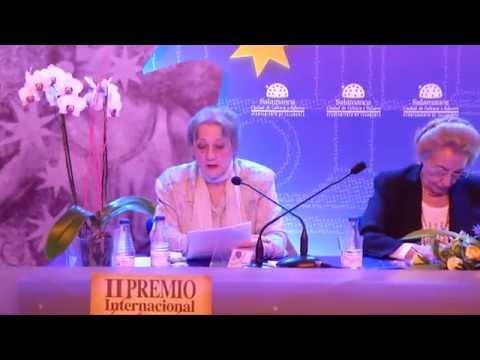 II Premio Internacional de poesía Pilar Fernández Labrador. Acto de entrega.
