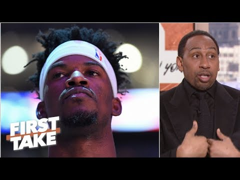 Jimmy Butler needs to control himself if he wants a max deal –Stephen A. | First Take