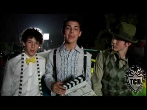 "Jonas Brothers ""Mandy"" Video Shoot Behind The Scenes Official HQ"