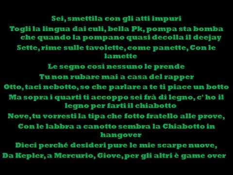 Emis Killa - 10 comandamenti (feat. Madman & Gemitaiz) - prod. by Pk (testo)