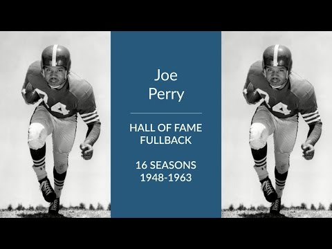 Joe Perry: Hall of Fame Football Fullback