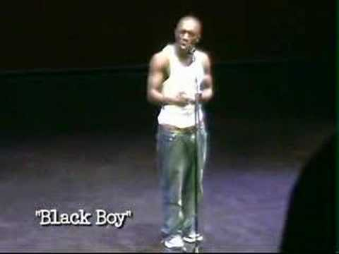 Ainsley Burrows - Black Boy