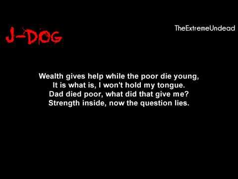 Hollywood Undead - Nobody's Watching [Lyrics Video]