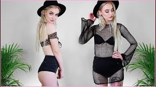 Try On Haul | PrettyLittleThing, Asos, Elly Pistol & More! | Evelina Forsell