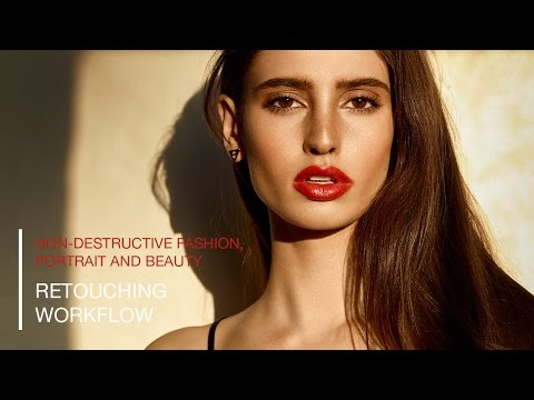 Retouching Workflow for Portrait, Fashion and Beauty with Photoshop and Capture One