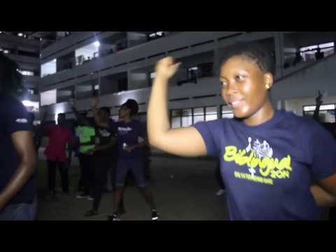 TEENS ALOUD STREET DANCE  - UNIVERSITY OF GHANA