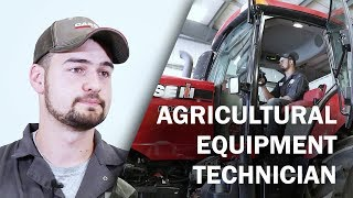 Job Talks - Agricultural Equipment Technician - Isaac Explains the Day-to-Day Diversity in His Job