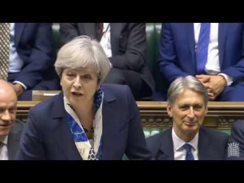 Queen's Speech Debates 2017 - Theresa May