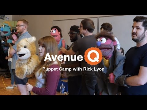 Behind The Scenes - Avenue Q Puppet Camp with Rick Lyon