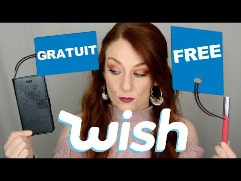 Jachète des PRODUITS GRATUITS sur WISH !!!