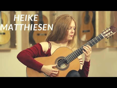 Heike Matthiesen plays Habanera from the Carmen Suite by Georges Bizet on a Altamira N500