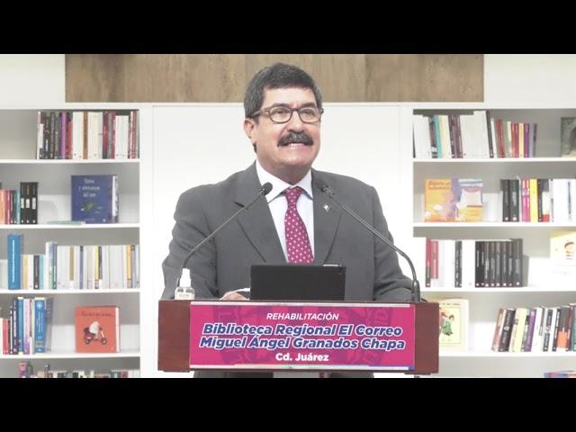 Por qué decidimos poner a esta Biblioteca Regional el nombre de Miguel Ángel Granados Chapa