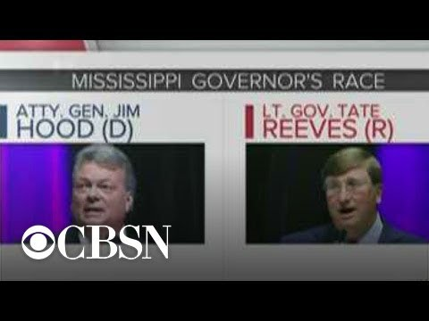 Republican Tate Reeves wins Mississippi governor race