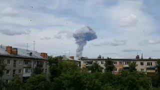 شاهد.. انفجار في مصنع متفجرات في روسيا والحديث عن مفقودين و 79 مصابا…