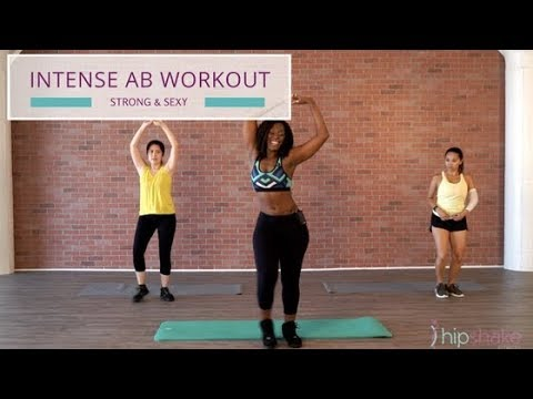 5 Minute Ab Dance Workout | Strong and Sexy