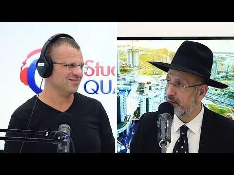 Le rav David Touitou, avec le Shass à Ashdod